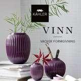 Vinn 3 av de vackra och populära Hammershøi-vaserna