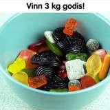 Vinn 3 kilo godis från Haribo