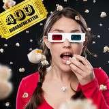 Vinn biobiljetter för ett helt år