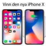 Vinn den nya iPhone X