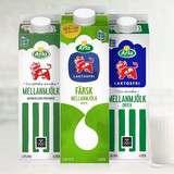 Vinn en årsförbrukning av mjölk