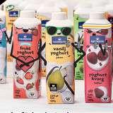 Vinn en årsförbrukning yoghurt