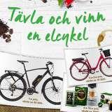 Vinn en elcykel och kaffe