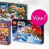 Vinn en julkalender från Lego