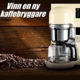 Vinn en kaffebryggare från KitchenAid