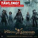 Vinn en resa till Los Angeles för galapremiären av Pirates of the Caribbean