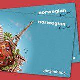 Vinn en värdecheck till Norwegian