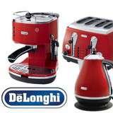 Vinn ett set med DeLonghi espressomaskin, brödrost och vattenkokare