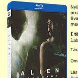 Vinn filmen Alien: Covenant på Blu-Ray