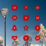 Vinn golfutrustning i SvenskGolf julkalender