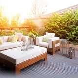Vinn nya trädgårdsmöbler