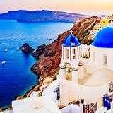 Vinn resa till vackra Santorini