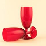 Vinn röda vinglas